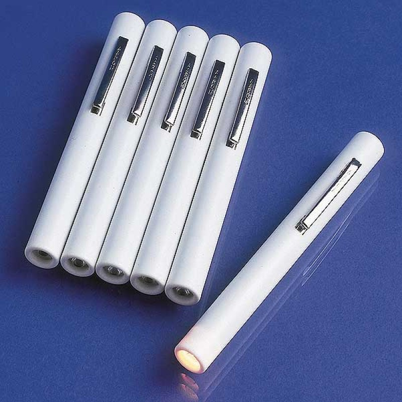 Disposable Pentorch White With Clip