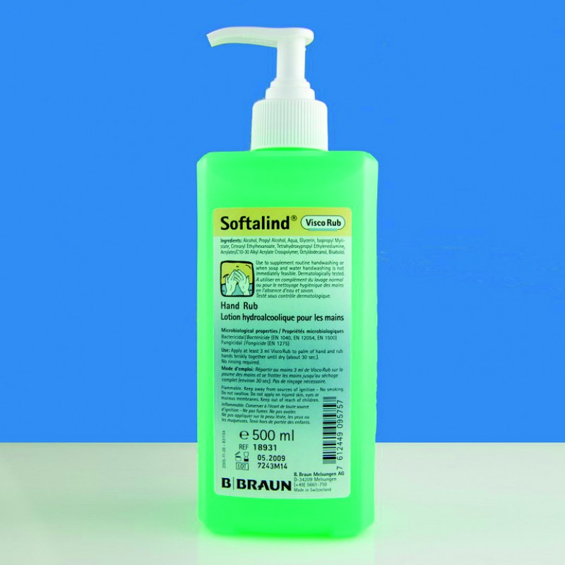 Softalind Hand Sanitiser 500ml