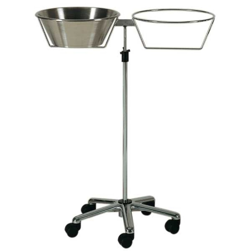 AW Select Fixed Height Basin Holder With 1 Stainless Bowl