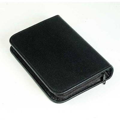 Leather Ampoule Case Black  - 60 Elastic Loop