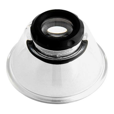 Magnifying Loupe 10x, 65mm Dia x 38mm