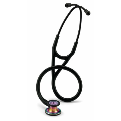 3M™ Littmann® Cardiology IV™ Stethoscope - Rainbow, Black Tubing