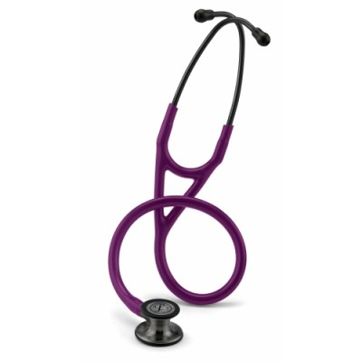 3M™ Littmann® Cardiology IV™ Stethoscope - Smoke, Plum Tubing