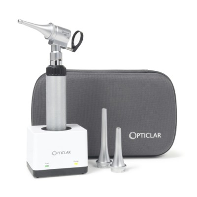 Opticlar LED Otoscope Set - Rechargeable Desk Units