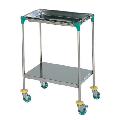AW Select Treatment Trolley With Removable Top Tray & Shelf