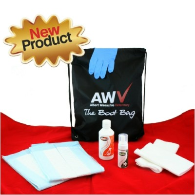 AWV Boot Bag with 200ml Pet Cleaner